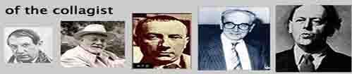 artistes pionniers de l'art du collage